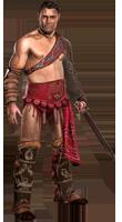 Образ гладиатора Hotrew