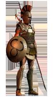 Образ гладиатора Таракашка