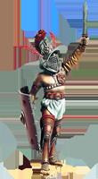 Образ гладиатора kyznec