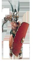 Образ гладиатора Ай-яй