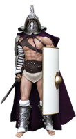Образ гладиатора Ganjaman