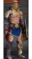 Образ гладиатора Барри Креститель