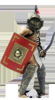 Образ гладиатора Miro
